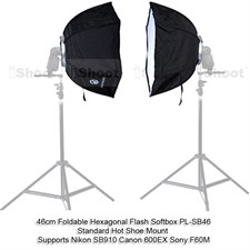 46cm Hexagonal Soft Box For Flash Light