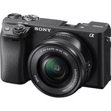 Sony a6400 Mirrorless Digital Camera with 16-50mm Lens