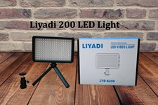 Liyadi 200 LED Light For Camera (Battery Charger Not Included)