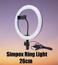 Simpex LED Ring Light For Tik Tok Videos