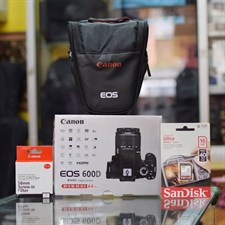 Canon 600D + 18-55 IS II Lens