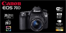 Canon 70D 18-55 IS STM