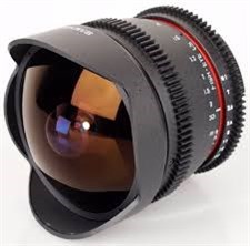 Samyang 8mm 3.8 Fish Eye Canon/Nikon