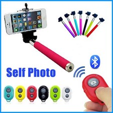 Selfie Stick With Blue Tooth Remote