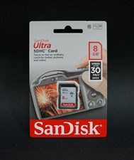 Sandisk 8GB 30MBPS Ultra Card