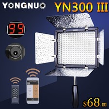 Yongnuo YN 300-III LED Light