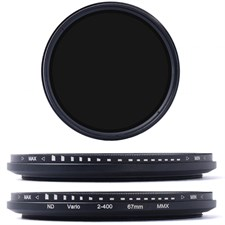 67MM Variable ND Filter ND2-ND400