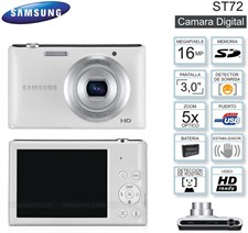 Samsung ST72 Digital Camera