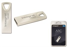 Integral ARC 16GB 2.0 Metal USB