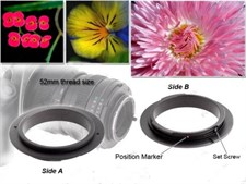 Canon 52mm Reverse Ring For Macro