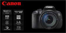 Canon 700D + 18-135 IS STM New