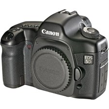 Canon 5D Body Used