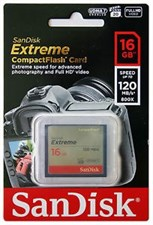 Sandisk Extreme 16GB  800x 120MBPS