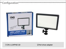 Luxpad 22 Video Light