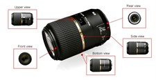 Tamron 90mm f/2.8 SP Di MACRO 1:1 VC USD Lens for Canon