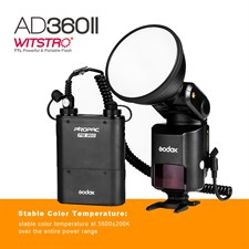 Godox AD360 II TTL Studio Light For Canon