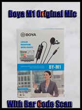 BOYA BY M1 (Original) Lavalier Microphone Audio Recorder for phone Canon Nikon DSLR Camera