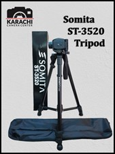Somita ST-3520 Professional Tripod For Camera and Mobile