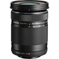 Olympus Digital ED 40-150mm f/4-5.6 R Lens Black