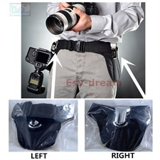 Double Camera Holster Belt For Two Dslr