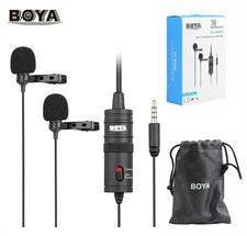 Boya BY-M1DM Dual Collar Microphone
