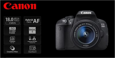 Dslr Canon 700d 18 55 Is Stm In Pakistan For Rs 56900