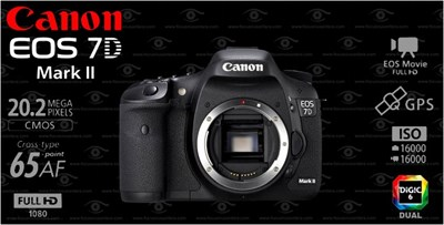 DSLR - Canon 7D Mark II Body in Pakistan for Rs  132000 00